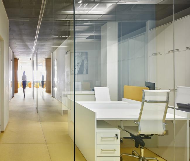 Офис «Альфа-Строй». Фотография предоставлена компанией OfficeNext