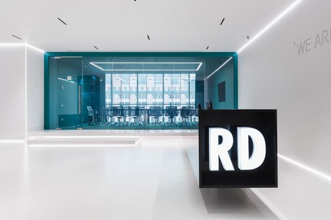 Офис RD CONSTRUCTION. Фотография предоставлена компанией OfficeNext