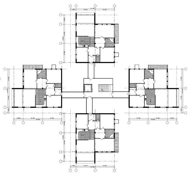 Малоэтажный жилой район, г. Пушкин © Архитектурное бюро Асадова