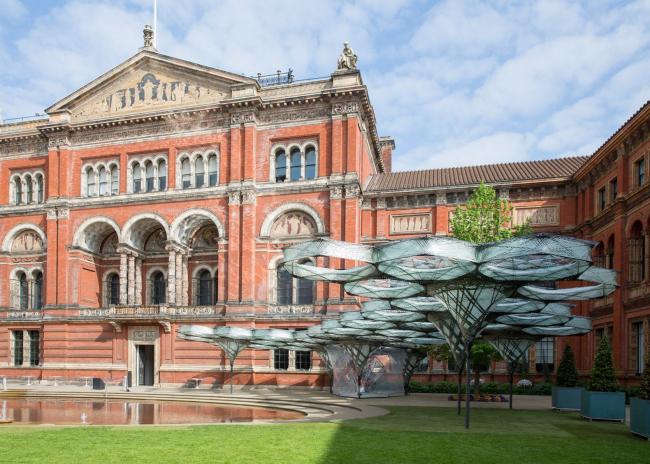 Павильон Elytra Filament в Музее Виктории и Альберта, 2016 © Victoria and Albert Museum, London
