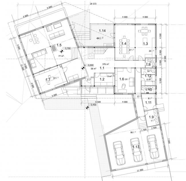 Коттеджный поселок «Покровское-Рубцово», г. Истра © Архитектурное бюро Асадова