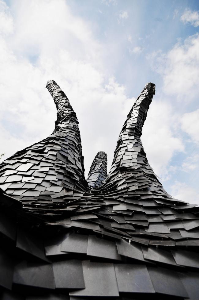 Объект «Печь Змей Горыныч». Макет © Пётр Виноградов и ПРО.Движение