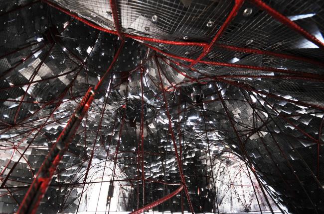 Объект «Печь Змей Горыныч». Макет изнутри © Пётр Виноградов и ПРО.Движение