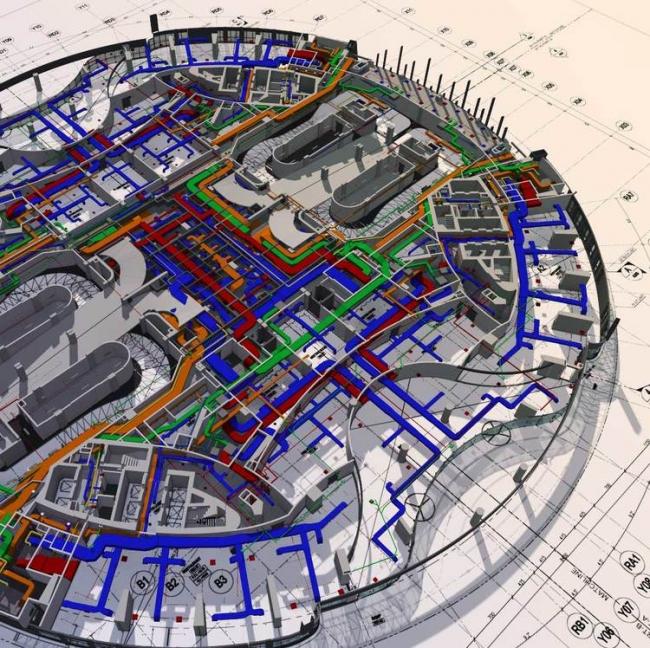 Информационная модель многофункционального комплекса © МАРШ