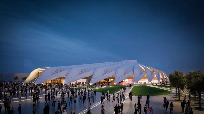 Павильон ОАЭ для Экспо-2020 © Santiago Calatrava LLC