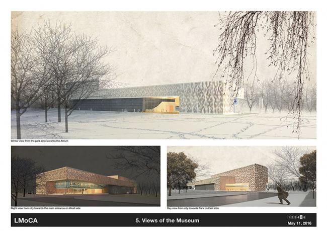 Проект Латвийского музея современного икусства © Neutelings Riedijk Architects (Netherlands) + Brigita Bula Arhitekte