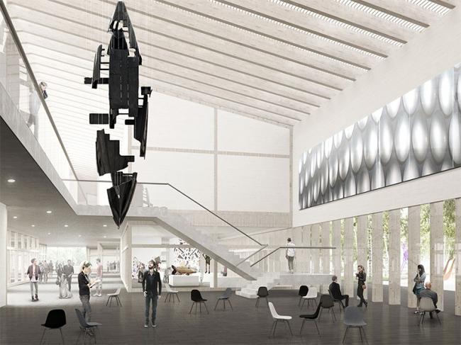 Проект Латвийского музея современного икусства © Sauerbruch Hutton (Germany) + Arhitekts Ingurds Lazdiņš