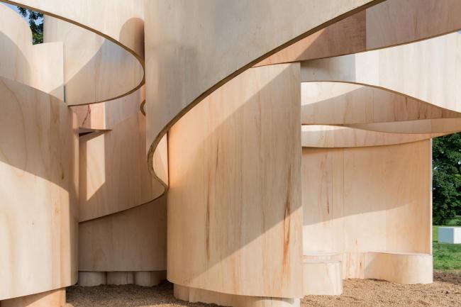 Летние домики Галереи Серпентайн 2016. Домик по проекту по проекту Barkow Leibinger © Iwan Baan