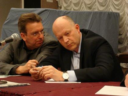 Сергей Киселев, Павел Андреев. Фото: «Строительство. Архитектура. Недвижимость»