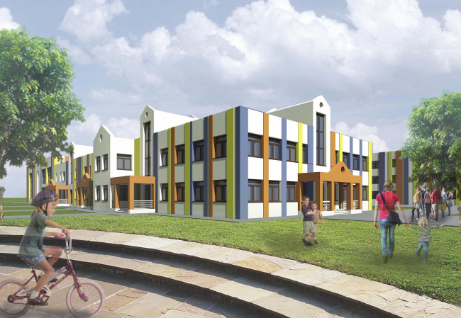 Sports training complex in Kirov © Arkhstroidesign