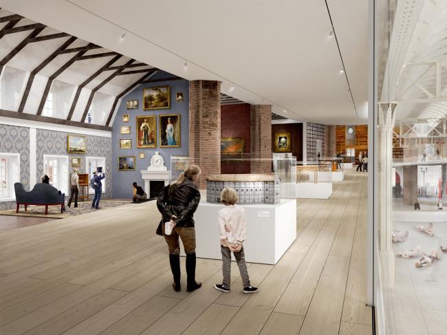 Новое здание Музея Лондона в Смитфилде © BIG + Hawkins\Brown. Источник: malcolmreading.co.uk