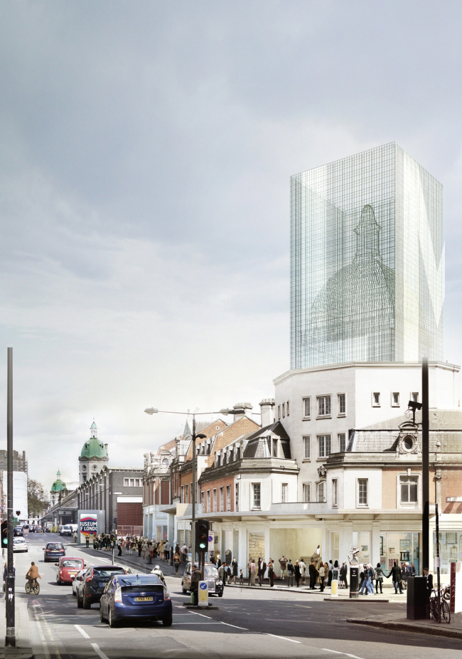 Новое здание Музея Лондона в Смитфилде © Diener & Diener Architekten + Sergison Bates Architects. Источник: malcolmreading.co.uk