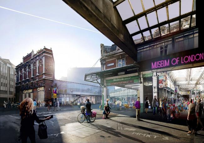 Новое здание Музея Лондона в Смитфилде © Lacaton & Vassal Architectes + Pernilla Ohrstedt Studio. Источник: malcolmreading.co.uk