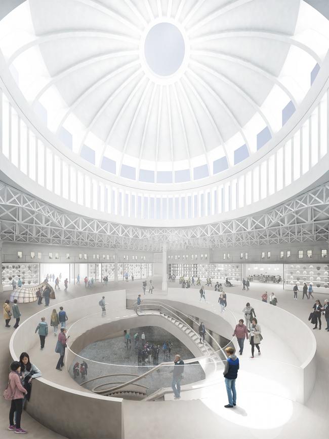 Новое здание Музея Лондона в Смитфилде © Stanton Williams + Asif Khan. Источник: malcolmreading.co.uk