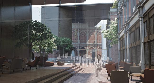 Новое здание Музея Лондона в Смитфилде © studio Milou architecture. Источник: malcolmreading.co.uk