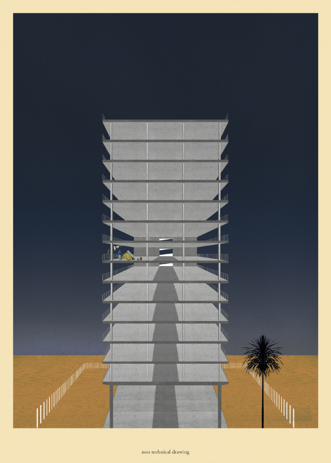 Ahotel / Leonard Palm, Thomas Bohne © Non Architecture Competitions