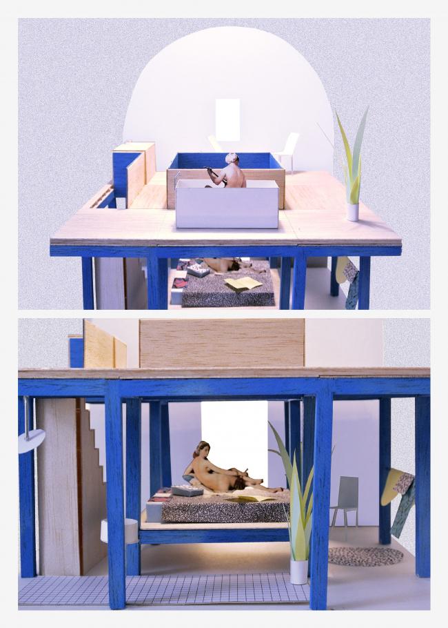 Troglodyte Living / Matteo Ghidoni, Jean-Benoît Vétillard