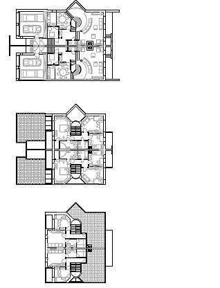 Коттеджный поселок «Барвиха-2» © Архитектурное бюро Асадова