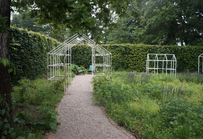 Съедобный сад. Имение Шомон-сюр-Луар, Франция, июнь 2016 © «8 линий» и Alphabet City