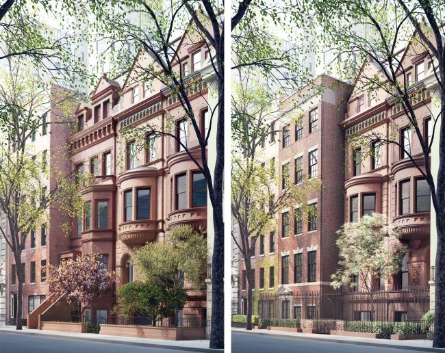 Слева вариант апреля 2016, справа июня 2016 © 2012 Steven Wang & Associates PLLC