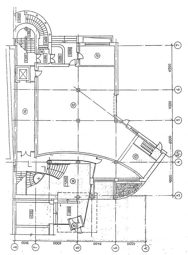 Пристройка к зданию ломбарда, Б. Спасская ул. © Архитектурное бюро Асадова