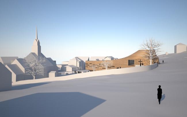 Новая церковь коммуны Ульстейн © Snøhetta