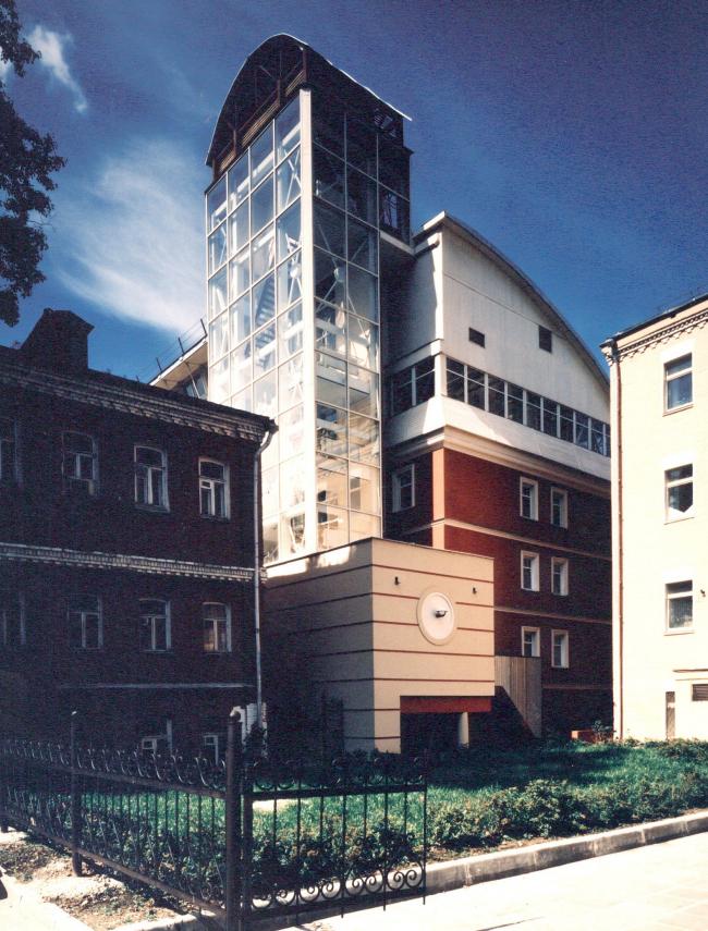 Реконструкция административного здания, ул. Н. Красносельская