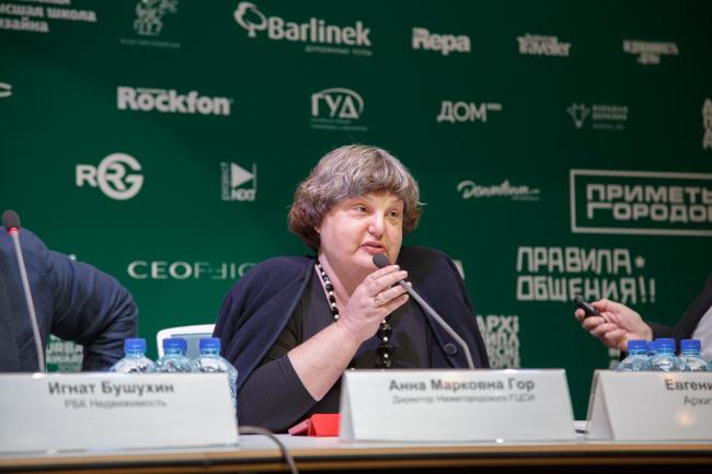 Анна Марковна Гор, директор Нижегородского ГЦСИ