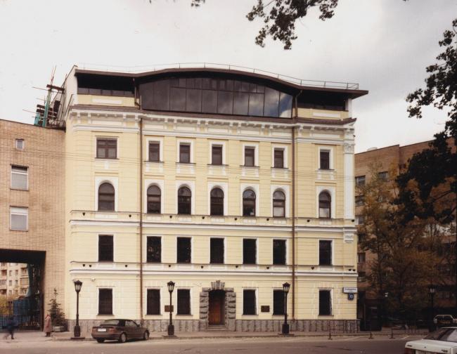 Реконструкция административного здания, ул. Плющиха © Архитектурное бюро Асадова
