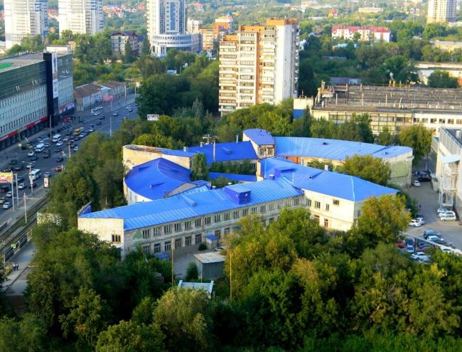 Проект реставрации Фабрики-Кухни под Средневолжский филиал ГЦСИ, Самара