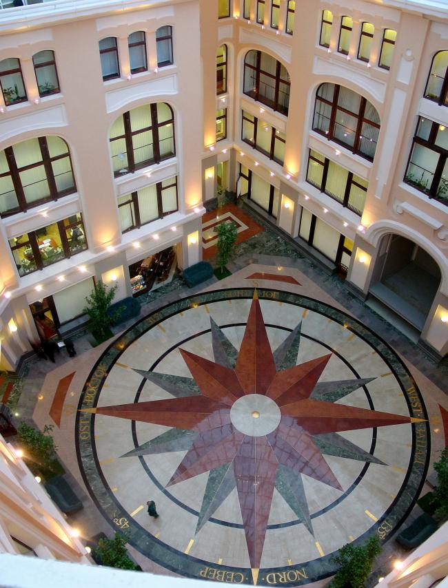 Реконструкция здания Центральной избирательной комиссии РФ © Архитектурное бюро Асадова