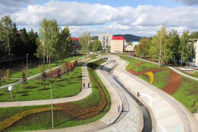 Парк «Шамсинур», Альметьевск, Татарстан
