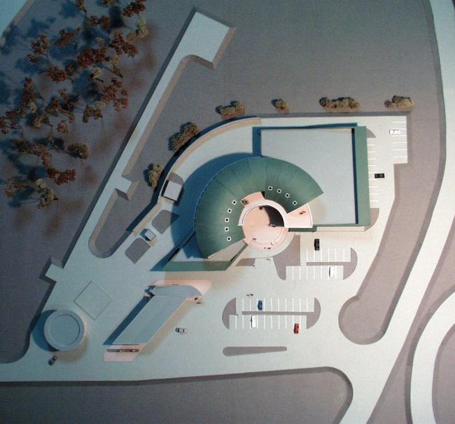 Центр «Русское бистро» © Архитектурное бюро Асадова