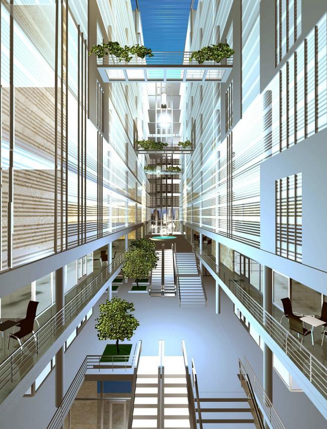 Многофункциональный комплекс «Стоматология» © Архитектурное бюро Асадова