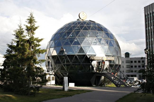 Павильон «Шар», Новосибирск. Параметрическая архитектура SpaceStructure, «Несущие системы»