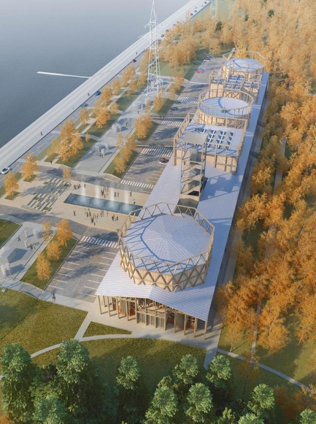 Проект музея науки и техники, Томск. Архитекторы: «Студия 44»