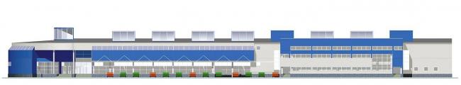 Торговый центр, МКАД, 74 км © Архитектурное бюро Асадова