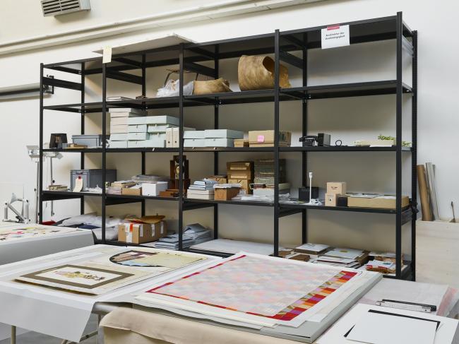 Офис сотрудников Музея дизайна компании Vitra © Vitra Design Museum, Florian Böhm