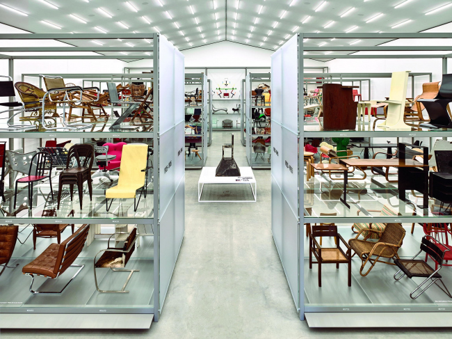Vitra Schaudepot © Vitra Design Museum, Mark Niedermann