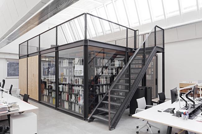 Офис сотрудников Музея дизайна компании Vitra © Vitra Design Museum, Daniele Ansidei