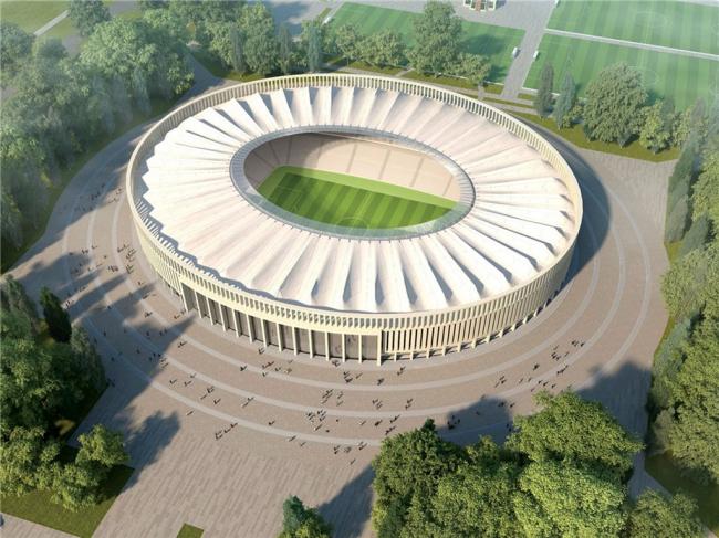 Стадион «Краснодар». Проект разработан архитектурным бюро SPEECH