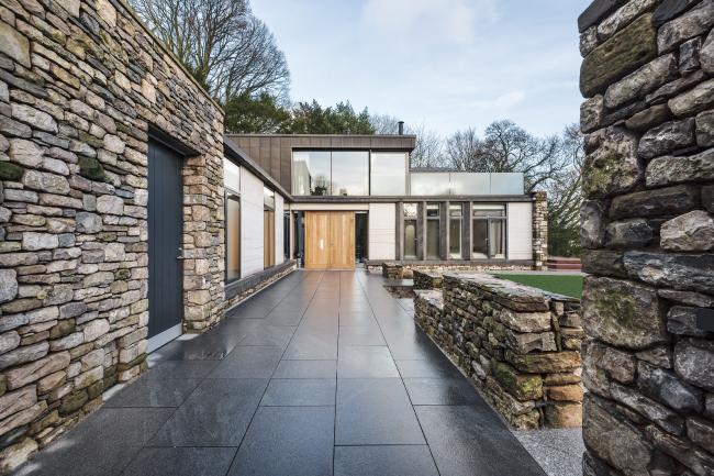 Частный дом в Камбрии.  Bennetts Associates. Фото © Brian Ormerod