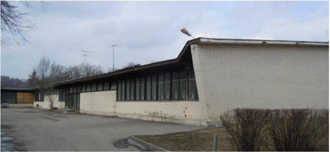 Ледовый дворец «Кристалл» на улице Лужники. Существующее здание. Заказчик: «Арена РТ». Проектная организация: ПИ «Арена»