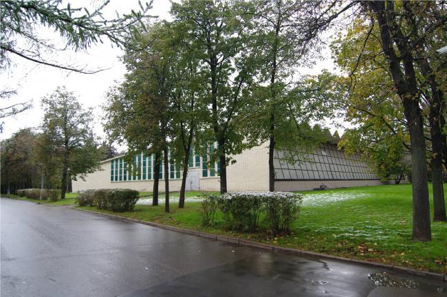Ледовый дворец «Кристалл» на улице Лужники. Существующее положение. Заказчик: «Арена РТ». Проектная организация: ПИ «Арена»