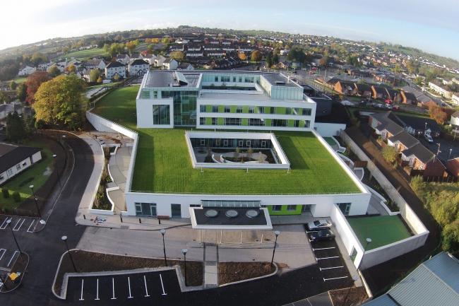Медицинский центр в Банбридже.  Kennedy FitzGerald Architects. Фото © Donal McCann