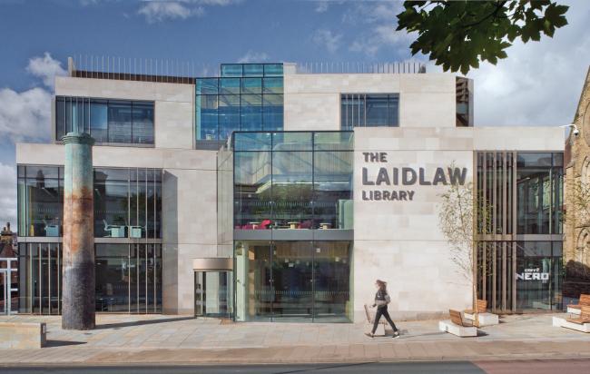 Библиотека Лэйдлоу Лидского университета.  ADP LLP. Фото © Beccy Lane