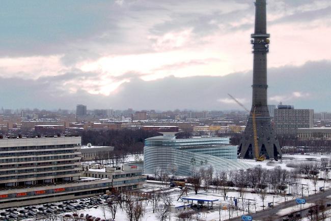 Телецентр Останкино © Архитектурное бюро Асадова