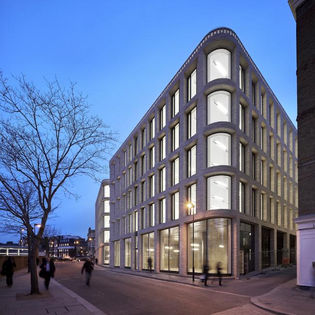 Офисный центр Turnmill в Кларкенуэлле, Лондон.  Piercy&Company. Фото © Al Crow