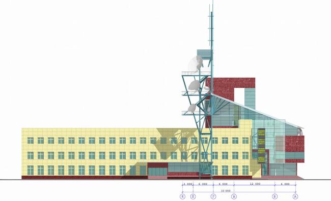Главпочтамт, г. Ханты-Мансийск © Архитектурное бюро Асадова
