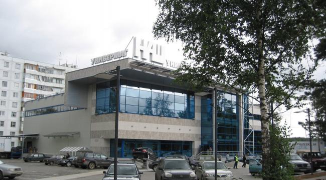 Торговый центр, пос. Горки-2 © Архитектурное бюро Асадова